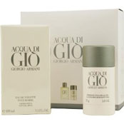 Acqua Di Gio For Men Edt Spray & Alcohol Free Deodorant Stick